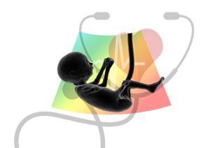 Échographie, Fœtus, Embryon, Placenta, Logo